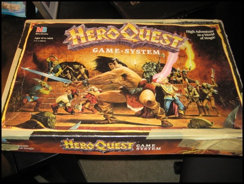 My Copy of HeroQuest