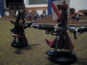 Eldar vs Dark Eldar