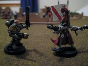 Eldar vs Space Marines